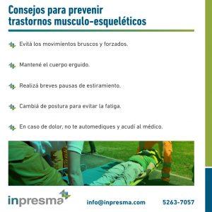 prevenir trastornos musculoesqueleticos